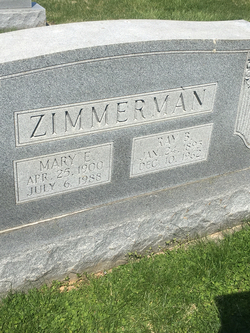 Ray B Zimmerman