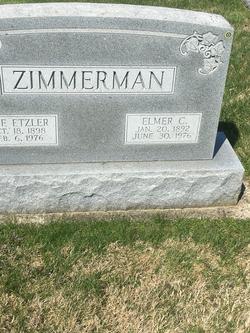 Elmer C Zimmerman