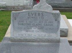 Dorothy Elaine <I>Gassie</I> Evers
