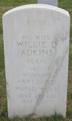 Willie D Adkins