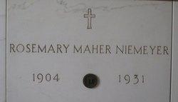 Rosemary <I>Maher</I> Niemeyer