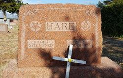 Mattie <I>Hensey</I> Hare