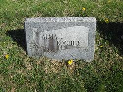Alma L <I>Walter</I> Kocher