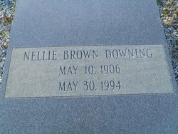 Nellie <I>Brown</I> Downing