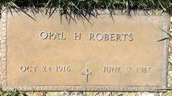 Opal H. <I>Streeter</I> Roberts