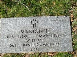 Marion E. Cummings