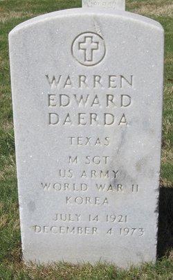 Warren Edward Daerda