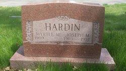 Joseph M Hardin