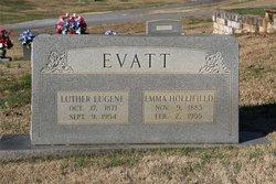 Emma <I>Hollifield</I> Evatt