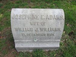 Josephine E. <I>Adams</I> Williams