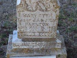 Mary Ettie Hamilton