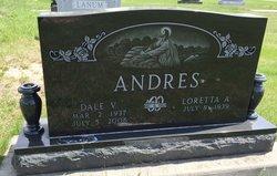 Dale V Andres