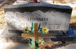 Sarah <I>Parker</I> Leonardi