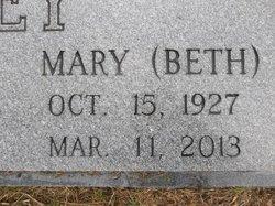 """Mary Elizabeth """"Beth"""" <I>Southard</I> Briley"""
