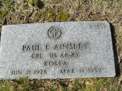 Paul F Ainsley