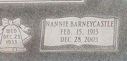 Nannie Belle Lois <I>Barneycastle</I> Wilson