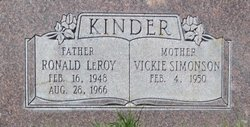 Ronald LeRoy Kinder