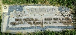 Mary Alice <I>Clark</I> Woodbury
