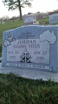Elijah Titus Jordan