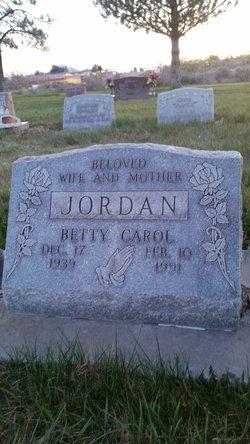 Betty Carol Jordan