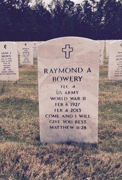 Raymond A. Bowery