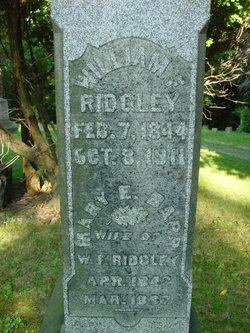 William Francis Ridgley