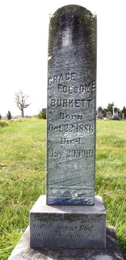 Grace <I>Folsome</I> Burkett