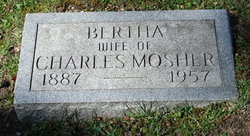 Bertha Julina <I>Stark</I> Mosher