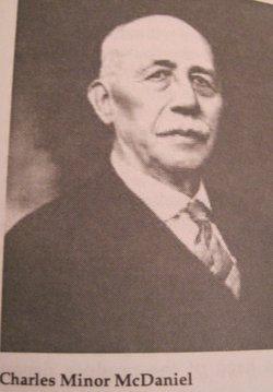Charles Minor McDaniel, Sr