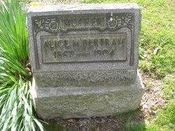 Alice M Bertram