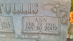 Ann Mae <I>Conkle</I> Tullis