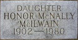 Honor Constance <I>McNally</I> McIlwain