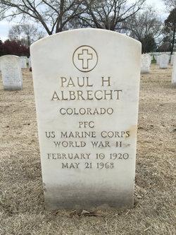 Paul H Albrecht