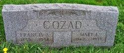 """Rev Francis Aaron """"Frank"""" Cozad"""
