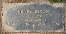 Henry Dixon