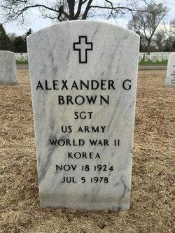 Alexander G. Brown