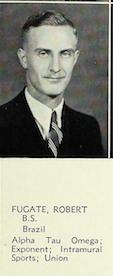 1Lt Robert B Fugate
