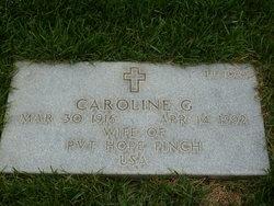 Caroline G Finch