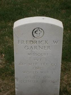 Fredrick W Garner