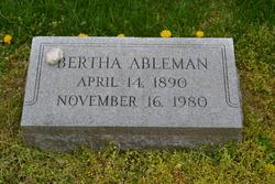 Bertha <I>Weinstein</I> Ableman