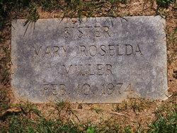 """Sr Mary Roselda """"Margaret"""" Miller"""