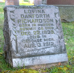 Lovina <I>Danforth</I> Richardson