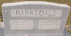 Christine <I>Sprouse</I> Barksdale