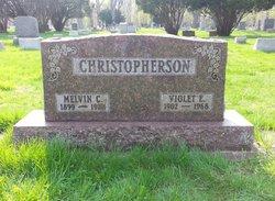 Mrs Violet Esther <I>Johnson</I> Christopherson