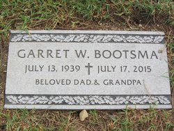 "Garret W. ""Gary"" Bootsma"