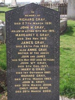 Private John W Gray