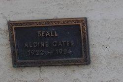Aldine <I>Gates</I> Beall