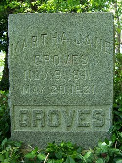 Martha Jane <I>Renfroe</I> Groves