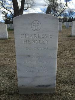 Charles E Hensley