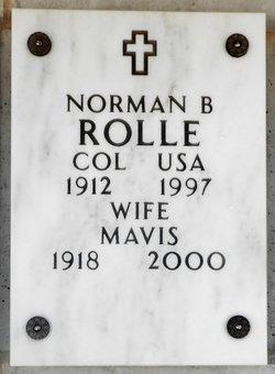 COL Norman Benjamin Rolle